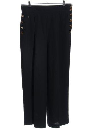Gardeur Pantalon Marlene noir tissu mixte