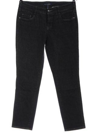 Gardeur Jeans skinny nero stile casual