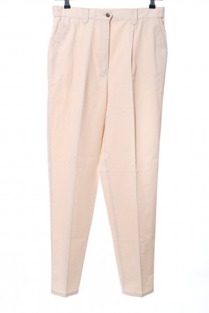 Gardeur Stoffhose creme Business-Look