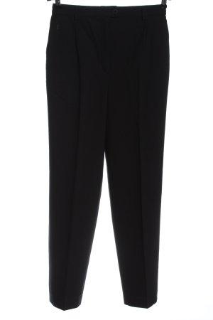 Gardeur Pantalone jersey nero stile professionale