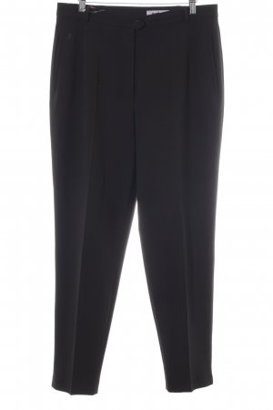 Gardeur Stoffhose schwarz Business-Look