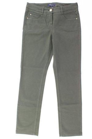 Gardeur Jeans a gamba dritta verde oliva Cotone