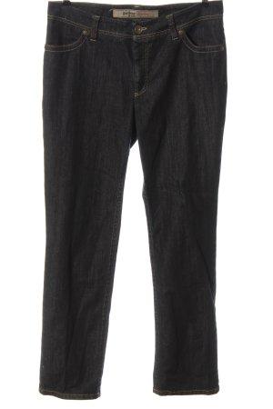 Gardeur Jeansy z prostymi nogawkami czarny W stylu casual