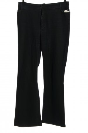 Gardeur Straight-Leg Jeans schwarz Casual-Look