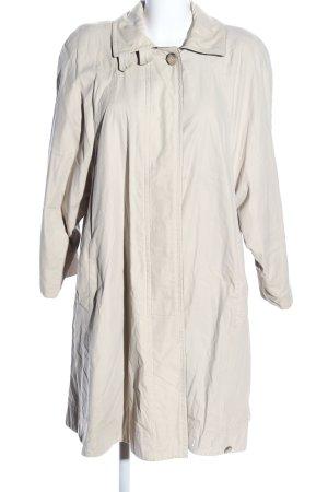 Gardeur Cappotto mezza stagione bianco sporco stile casual