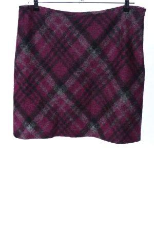 Gardeur Gonna di lana motivo a quadri stile casual
