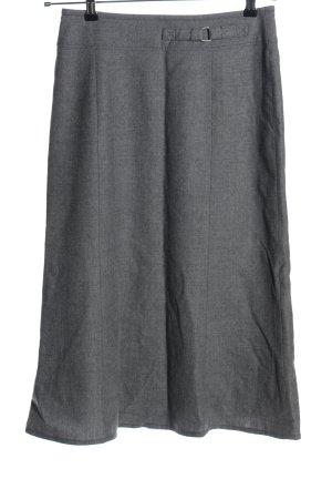 Gardeur Gonna di lana grigio chiaro stile professionale