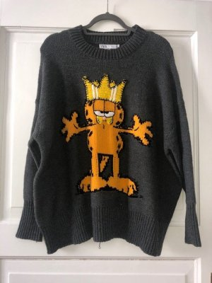 Garfield-Pullover von Zara, Gr. S - NEU mit Etikett