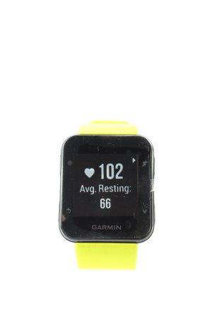 Garmin Montre numérique jaune primevère-noir style décontracté
