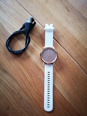 Garmin Montre numérique blanc-or rose