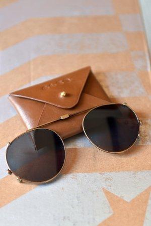 Round Sunglasses multicolored metal