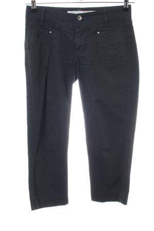 Gas Pantalon 3/4 noir style décontracté