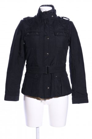 Gas Bikerjacke blau Casual-Look