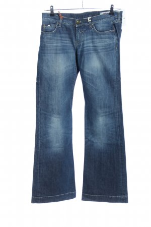 Gas Boot Cut Jeans blau Casual-Look