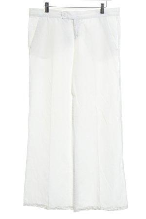 Gas Pantalon chinos blanc cassé