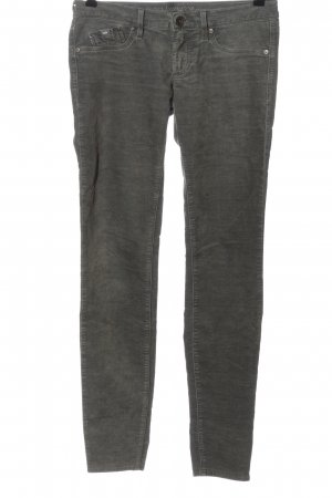 Gas Corduroy Trousers light grey casual look