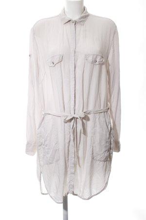 Gas Hemdblusenkleid weiß Casual-Look