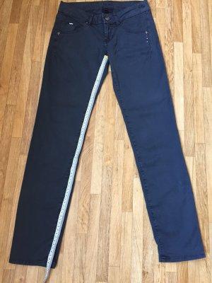 Gas 7/8 Length Trousers dark blue