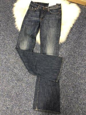 Gas Jeans bootcut bleu foncé