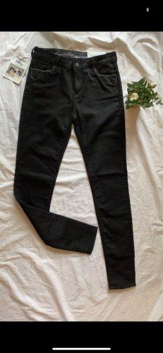 Gas Pantalón de equitación negro