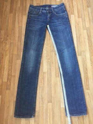 Gas Straight Leg Jeans dark blue