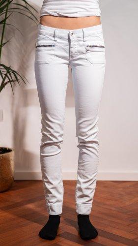 Gas Jeans skinny bleu pâle