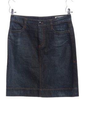 Gas Jupe en jeans bleu style décontracté