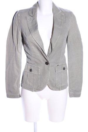 Gas Blazer en jersey gris clair style d'affaires