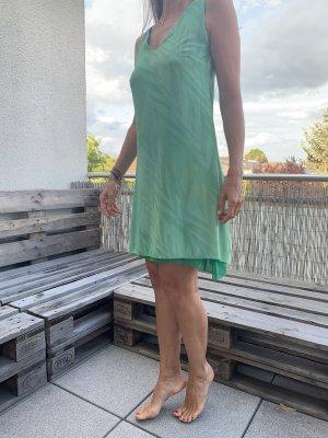 Gas A Line Dress lime-green-green