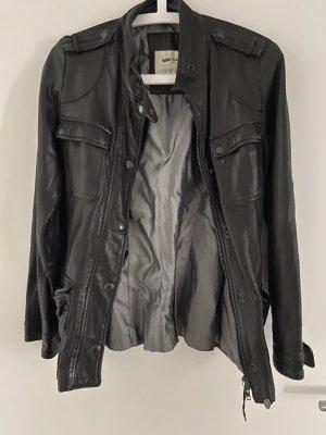 Gas Leather Jacket black