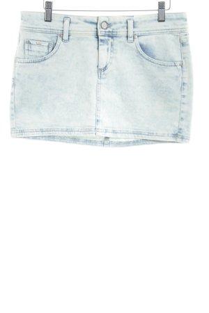 Gas Mini-jupe bleu pâle style décontracté