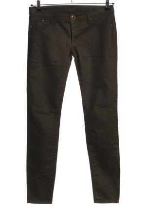 Gas Tube Jeans bronze-colored mixture fibre