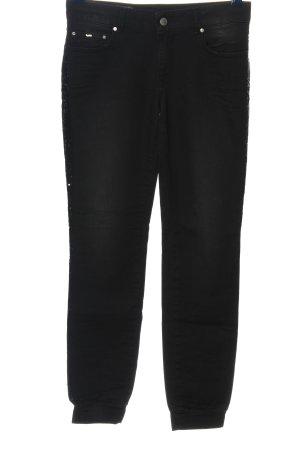 Gas Jeans skinny noir style décontracté