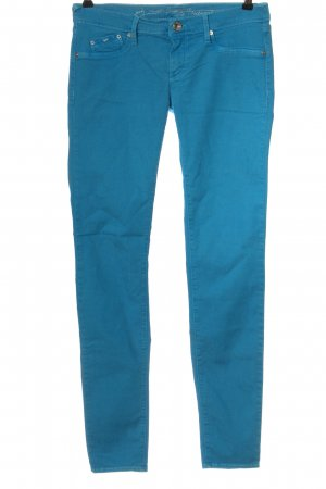 Gas Jeans skinny blu stile casual