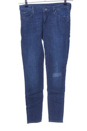 Gas Skinny Jeans blau Casual-Look
