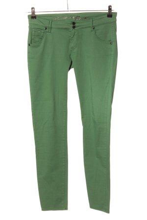Gas Jeans slim vert style décontracté