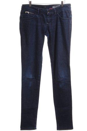 Gas Slim Jeans blau Casual-Look