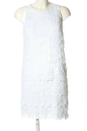 Gas Spitzenkleid weiß Elegant