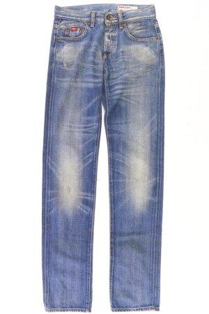 Gas Jeans a gamba dritta blu-blu neon-blu scuro-azzurro Cotone