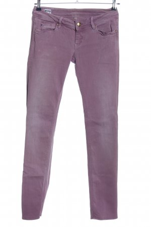 Gas Skinny Jeans lila Casual-Look