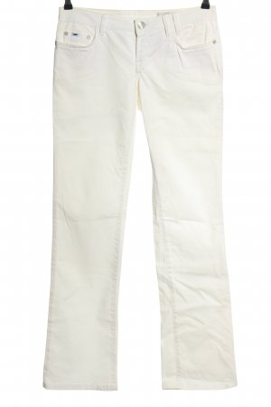 Gas Straight-Leg Jeans weiß Casual-Look