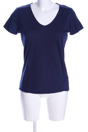 Gas T-Shirt blau Casual-Look