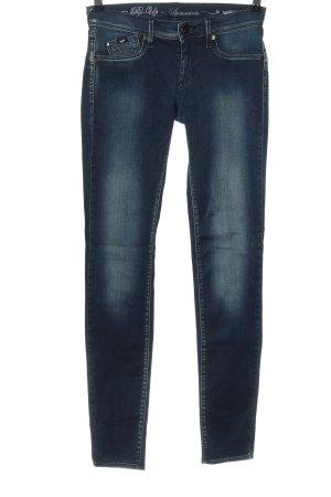 Gas Stretch Jeans blau Casual-Look
