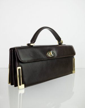 Gasparini Vintage Echtleder Handtasche