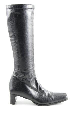 Gastone Lucioli Absatz Stiefel schwarz klassischer Stil
