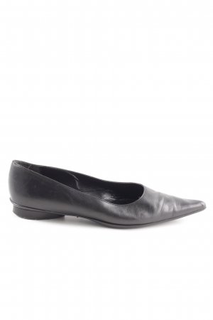 Gastone Lucioli Slipper schwarz Casual-Look