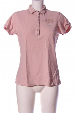 Gastra Polo-Shirt pink Casual-Look