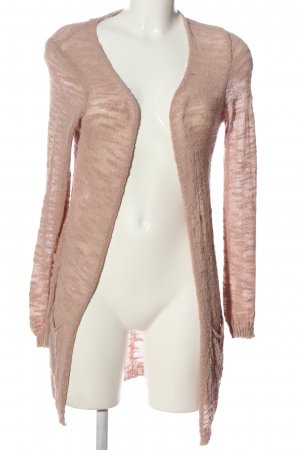 Gaudi Cardigan pink weave pattern casual look