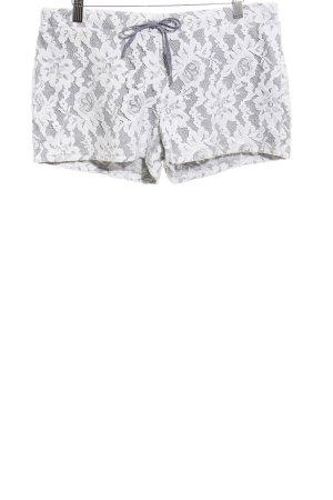 Gaudi Shorts weiß-hellgrau Casual-Look