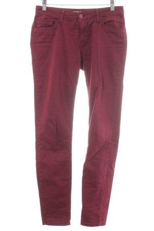 Gaudi Skinny Jeans brombeerrot Casual-Look